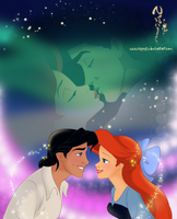 Ariel and Eric-Sweet Love by Nippy13