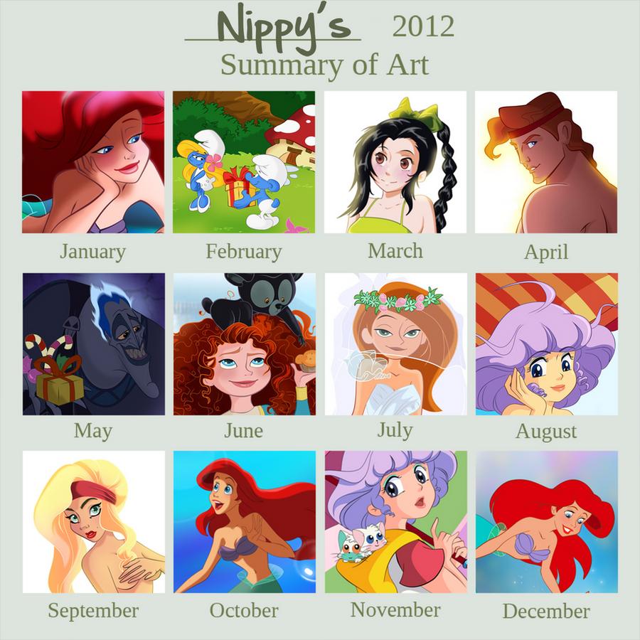 Nippy's 2012 Art Summary by Nippy13