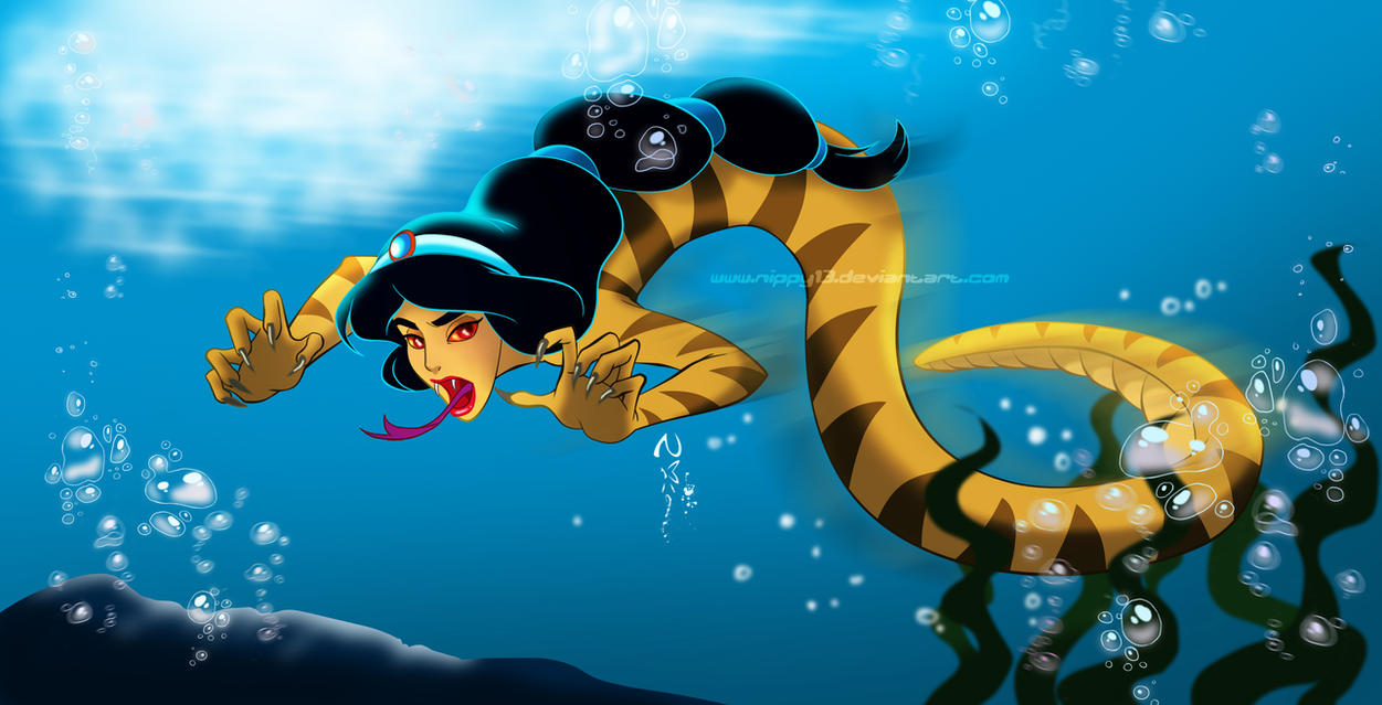 Jasmine Water Snake by Nippy13