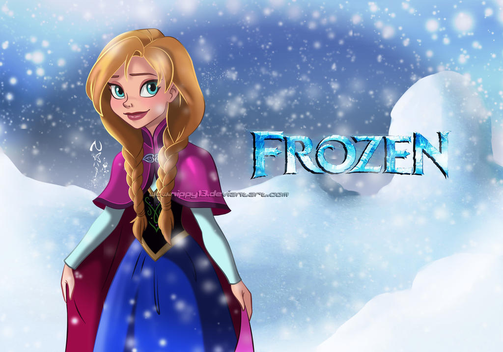 Disney 39 s frozen anna 01 by nippy13 on deviantart - Frozen anna disney ...