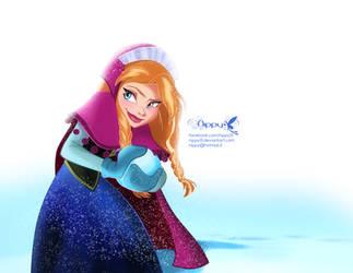 Disney's Frozen-Anna 02 by Nippy13
