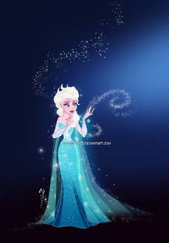 Frozen... a kingdom of isolation...