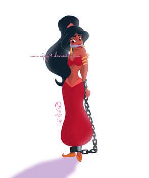 Jasmine is in trouble!