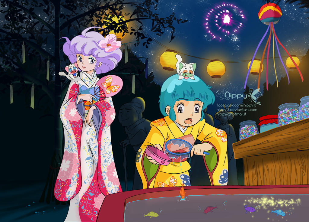 Creamy Mami and Tanabata Celebration by Nippy13