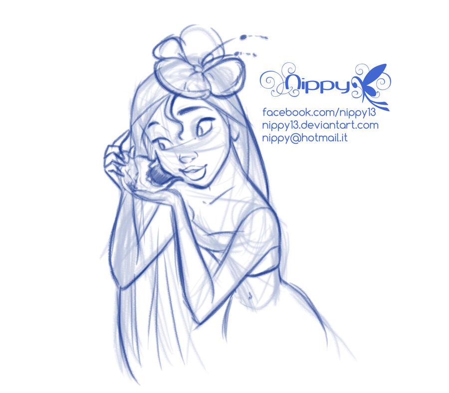 Moana Disney Character Design : Moana pencil sketch by nippy on deviantart