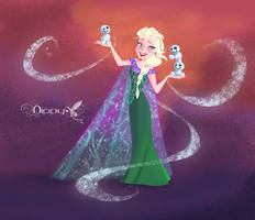 Frozen Fever by Nippy13