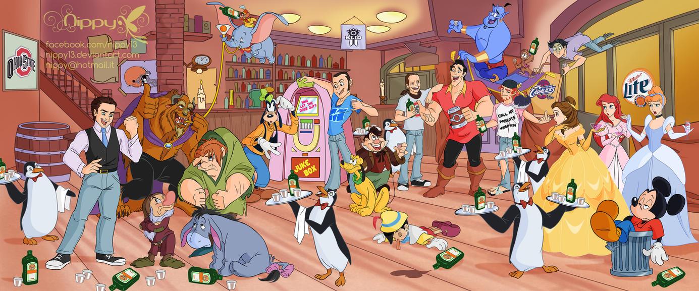 Disney Bar by Nippy13