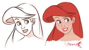 Ariel Doodle