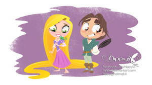 Rapunzel and her prince