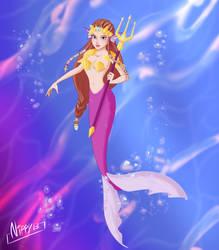 Zelda mermaid