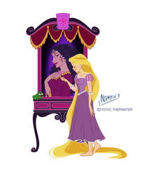 Mirror Princess-Rapunzel by Nippy13