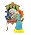 Vanity Princess-Merida
