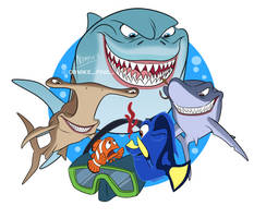 Sharks Nemo by Nippy13
