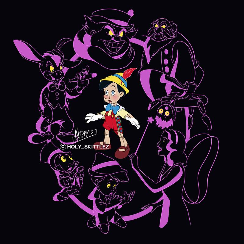 Pinocchio Nightmare by Nippy13