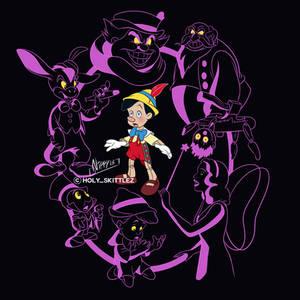 Pinocchio Nightmare