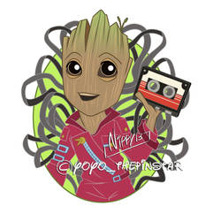 Baby Groot2 by Nippy13