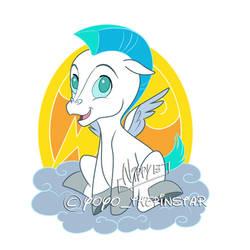 Baby Pegasus2 by Nippy13