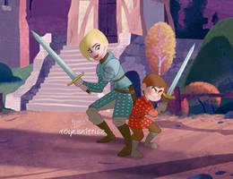 Brienne Podrick2 by Nippy13