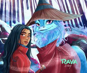 Raya and Sisu