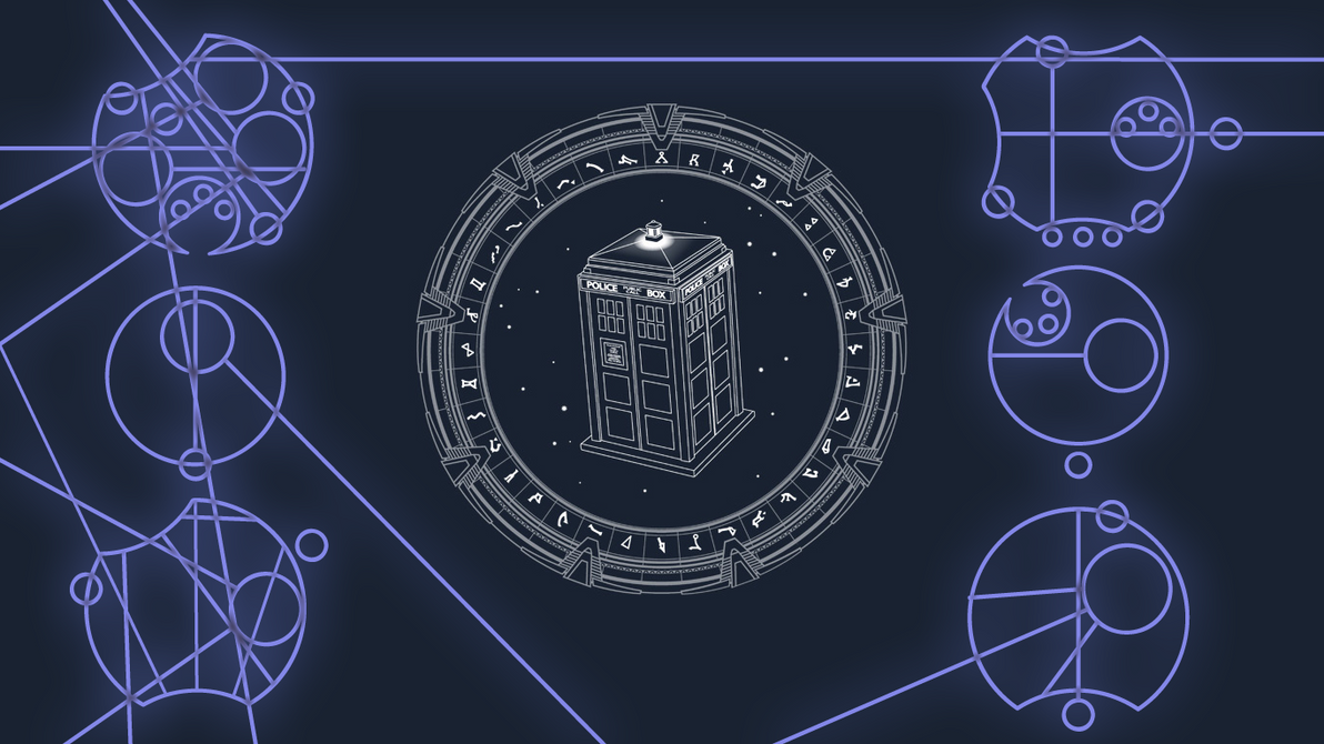 Tardis time and relative dimension in space by for Dimensions of space and time
