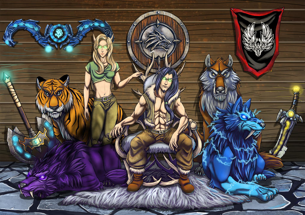 Warcraft 3 Anime Characters : Beast masters by xxfenrierxx on deviantart