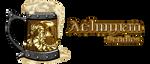 Comission:Dragon Mug logo by XxFenrierxX