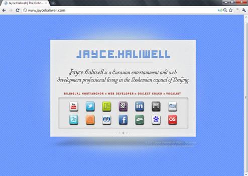 Jayce Haliwell vCard Page