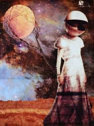 Moon Balloon by ErinCase