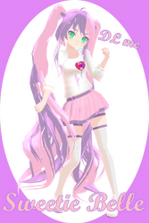 [MMD] Sweetie Belle Humanized (Models dl) by PenitaHelia