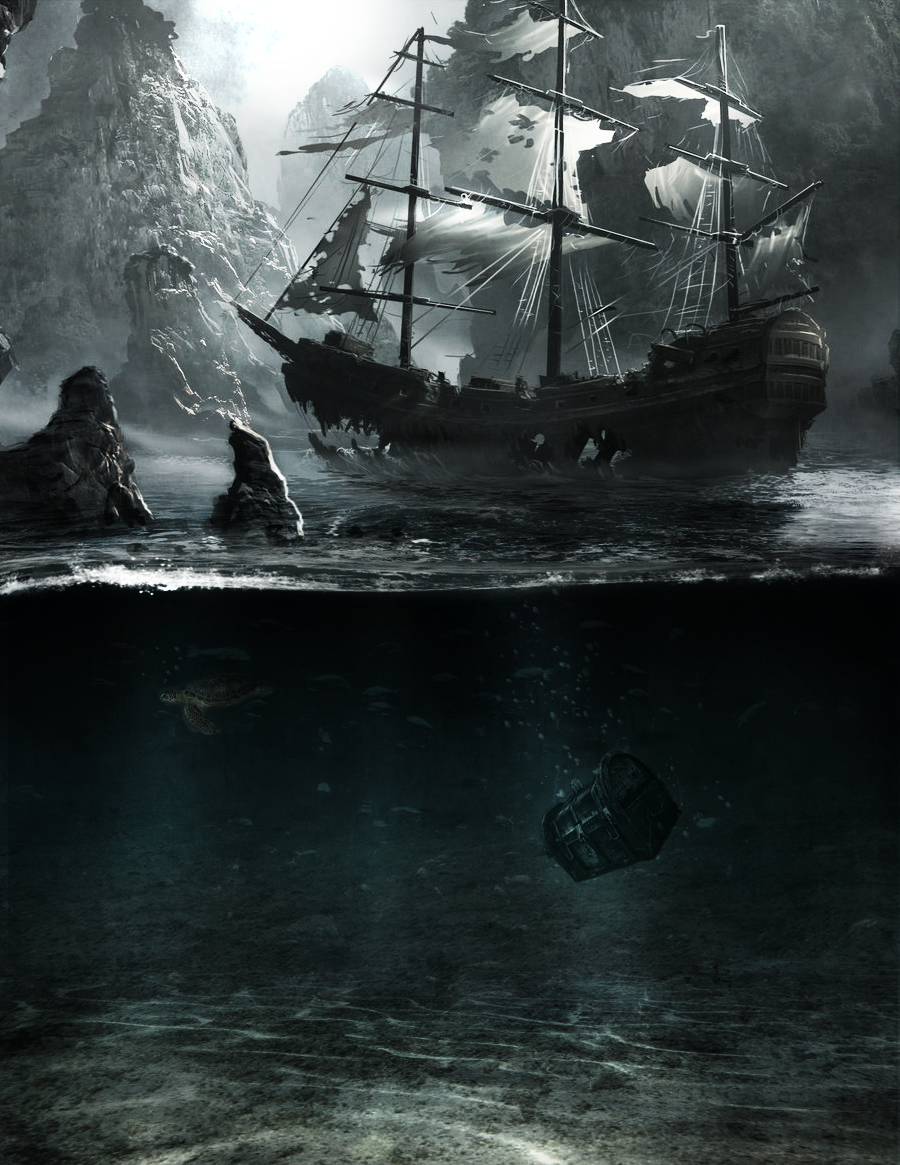 Ghost ship by TomKell
