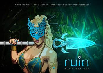 RUIN: The Ghost Isle - Meena by samsunlobe