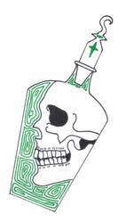 Skullbottle by CoastChiller