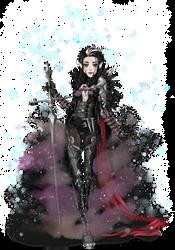 Eldarya Elyroze: Malus Darkblade cosplay by OUTL4ST