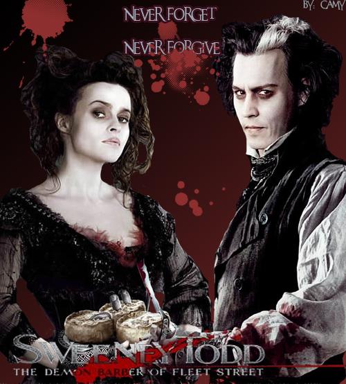 Sweeney todd and Mrs Lovett by camy2 - Tim Burton Ve Johnny Depp Filmleri Fan Clup