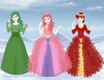 AnnieofArendelle's Queens of Mewni