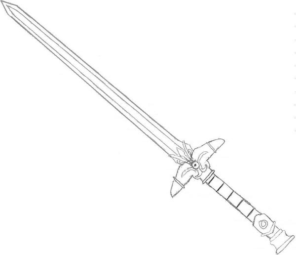 Dart Felds Sword By Kurando Uteri On DeviantArt