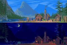 Frontier Village by Xamlllew