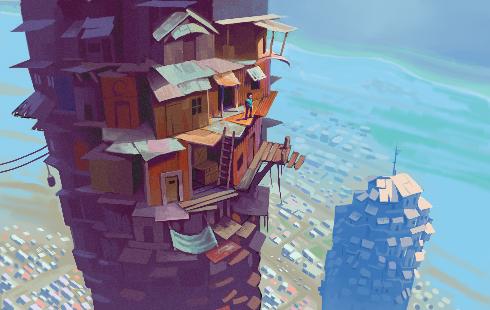 Slum Tower by Xamlllew