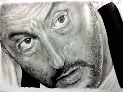 Jean Reno portrait