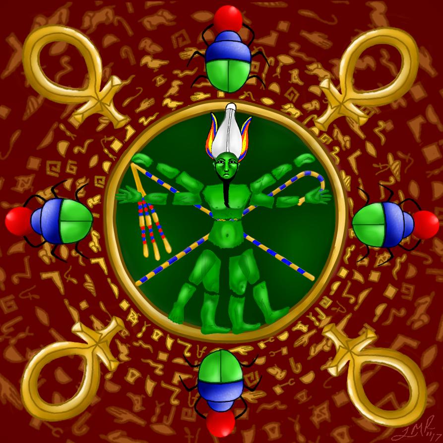 Vitruvian Osiris by joymoonsong
