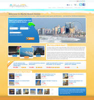 hotels reservations website by LETSOC