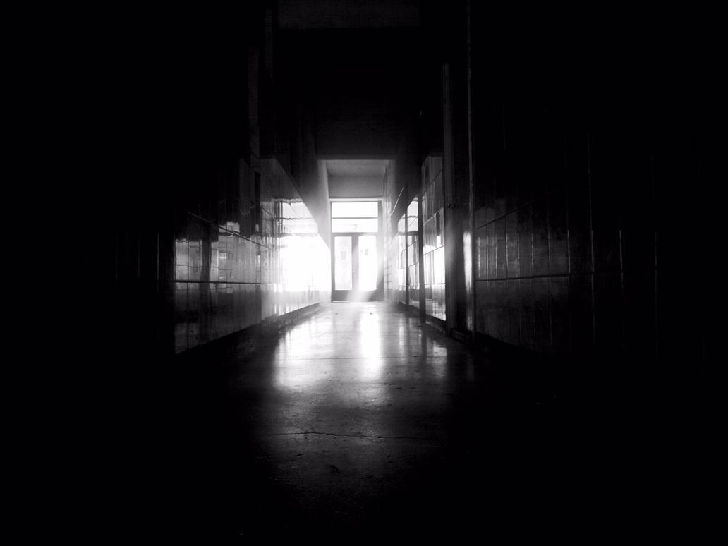 Bw Dark Hallway By LETSOC ...