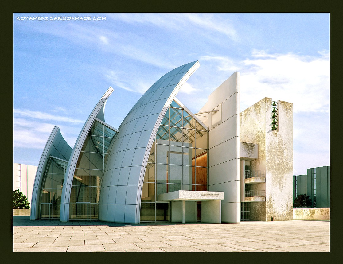 Jubilee church richard meier by koyamenz on deviantart for The jubilee church