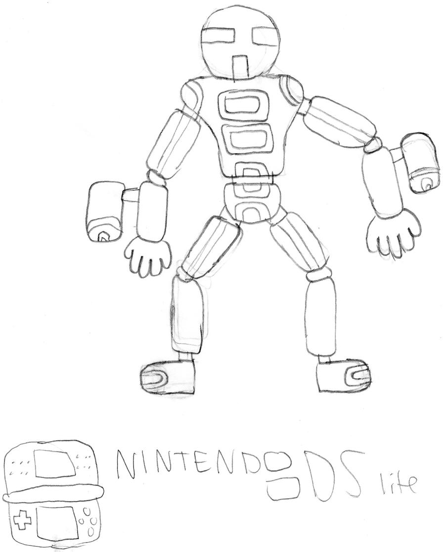 nintendo ds coloring pages - photo#6