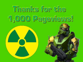 1,000 Pageviews by NitroactiveStudios