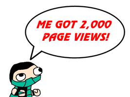 2,000 Pageviews by NitroactiveStudios