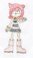 Jackie the Hedgehog Sketch by NitroactiveStudios