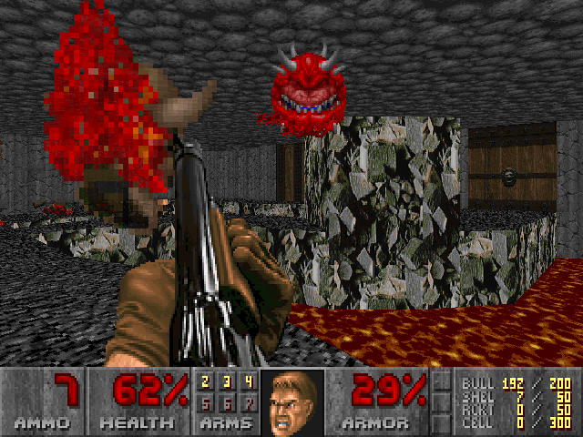 Nitro's Doom Screenshot 2 by NitroactiveStudios