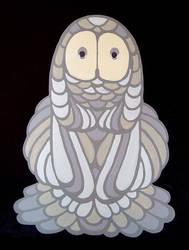 Owl Totem Two by friendbeast