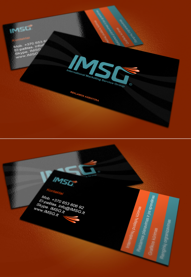 IMSG business card by repiano on DeviantArt